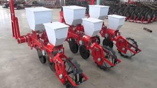 3 rows mechanical precise corn bean seeder show