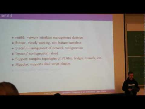 Fosdem 2012 Openwrt (part 1)