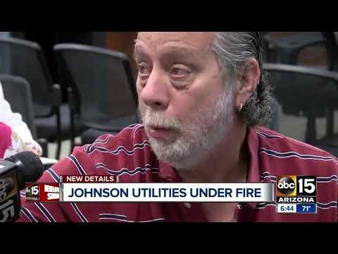 Johnson Utilities still under fire in the southeast Valley