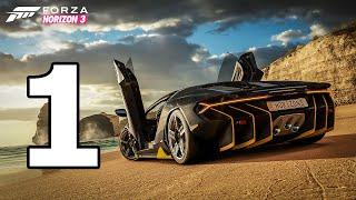 Forza Horizon 3 Walkthrough Part 1 - No Commentary Playthrough (Xbox One)