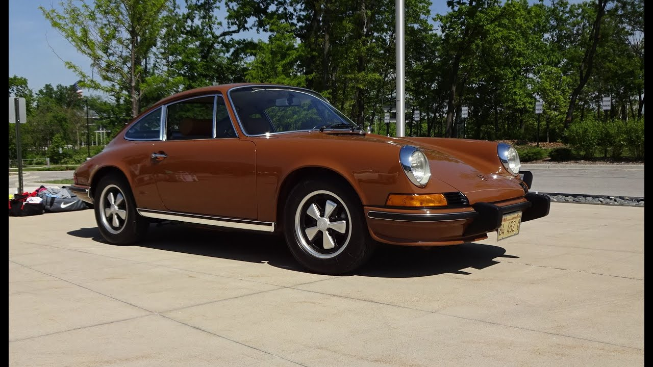 1973 Porsche 911s All Original In Sepia Paint Engine Start Up On 912 Coupe Type Of My Car Story With Lou Costabile