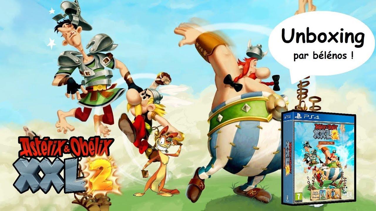 Unboxing Asterix Obelix Xxl2 Edition Limitee Cadeau Micromania