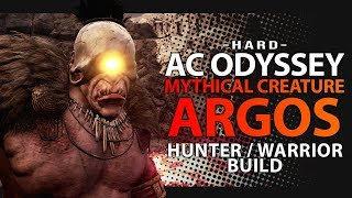 Assassin's Creed Odyssey - MYTHICAL CREATURE AGROS - Hunter / Warrior Build (AC Odyssey)