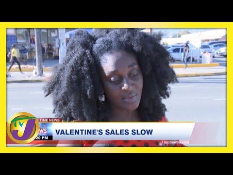 Valentine's Sales Low   TVJ News