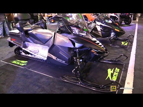 2016 Arctic Cat Pantera 7000 Sled - Walkaround - 2015 Toronto Snowmobile & ATV Show
