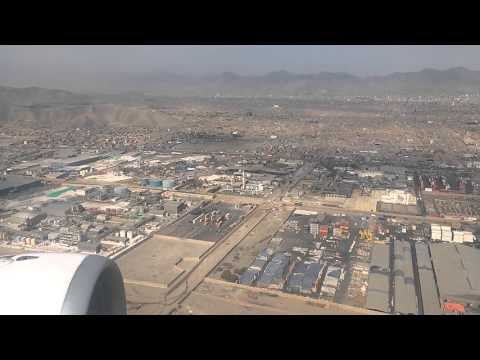 Coming In To Land At Jorge Chavez International Airport, Callao, Peru
