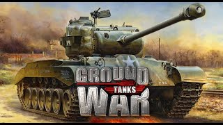 Ground War: tanks СУ-100 и Долбаный Пинг Обзорчик