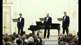 117. Ah, Wide Steppe. Vladimir Miller, basso profundo. Three Russian bass profundo. avi