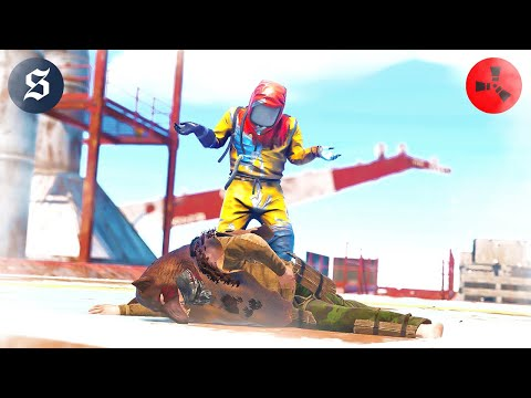Download I'm literally the BULLY at OIL RIG to these players - SOLO RUST #6 S76