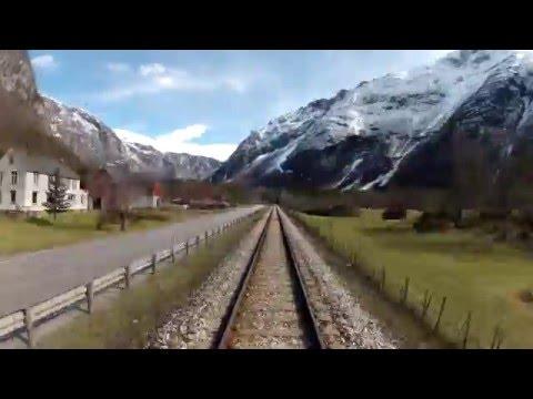 Åndalsnes-Dombås timelapse