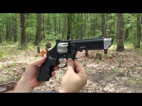 Revolver Smith & Wesson 627, Cal 357, Performance Center, en Español