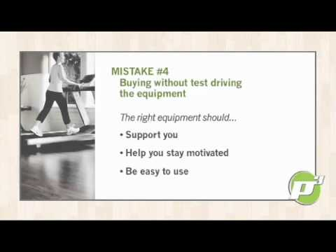 Home Fitness Equipment – Avoid These Common Buying Mistakes