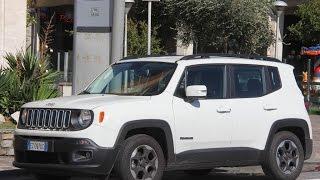 Jeep Renegade - прыткий квадрат