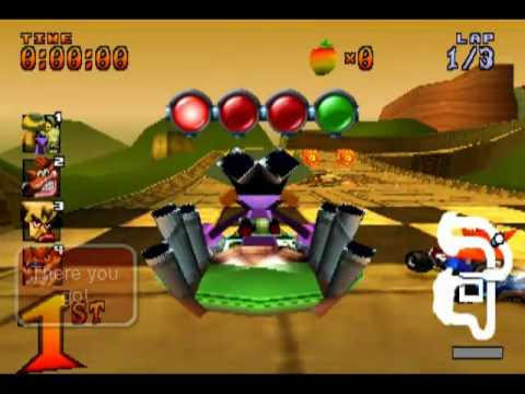 Crash Team Racing : N.Oxide Gameshark Codes