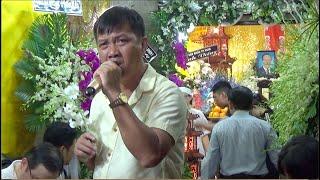 NSUT Chiêu Hùng chỉ xin được một lần..trước linh cữu nghệ sĩ Quốc Hùng, chồng NSND Thoại Miêu