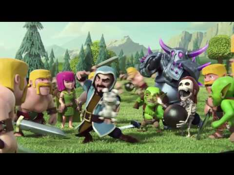 Clash Of Clans Valentine's Day Creations