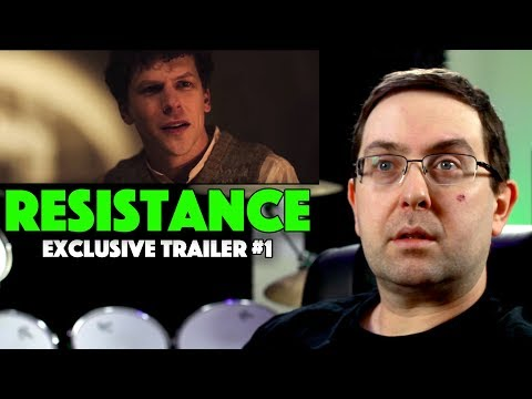 REACTION! Resistance Exclusive Trailer #1 – Ed Harris Movie 2020