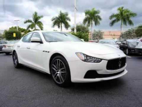2014 Maserati Ghibli - Miami FL