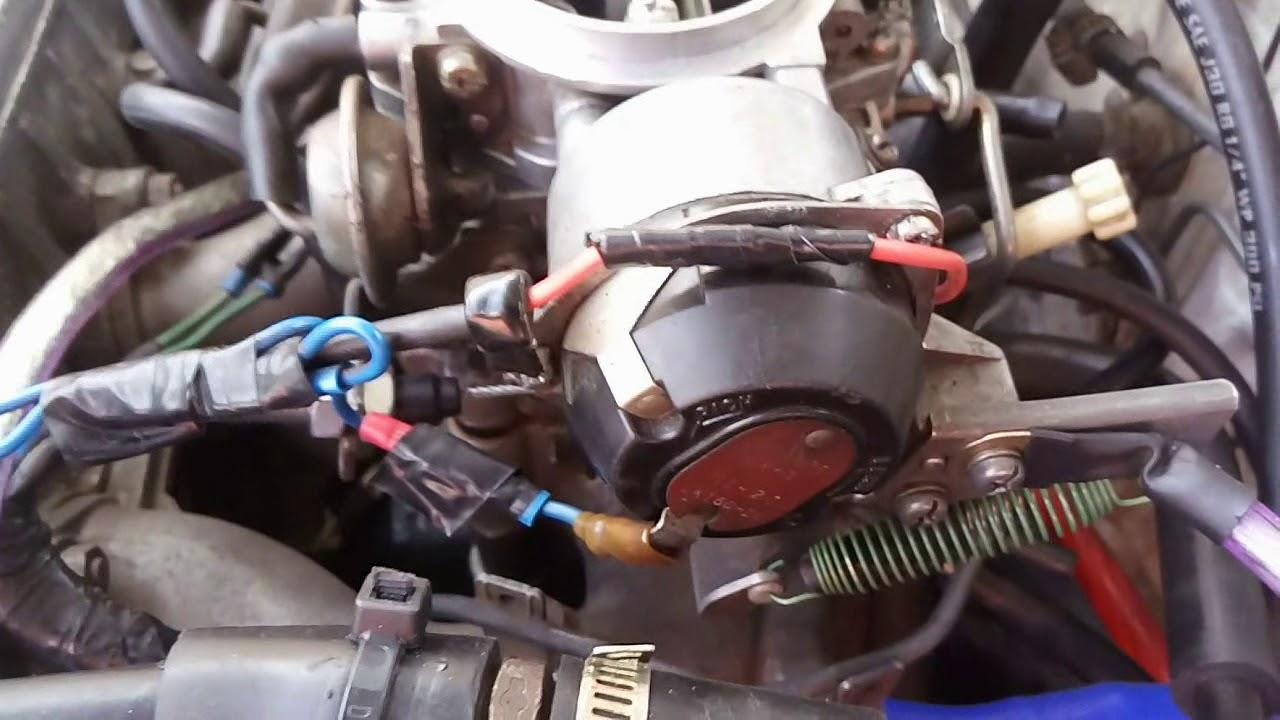 Sistema De Arranque En Frio Carburador Nikki
