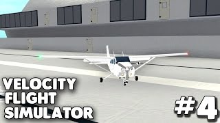 Landing on an Aircraft Carrier! | Velocity Flight Simulator #4 | Roblox