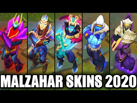 All Malzahar Skins Spotlight 2020 (League of Legends)