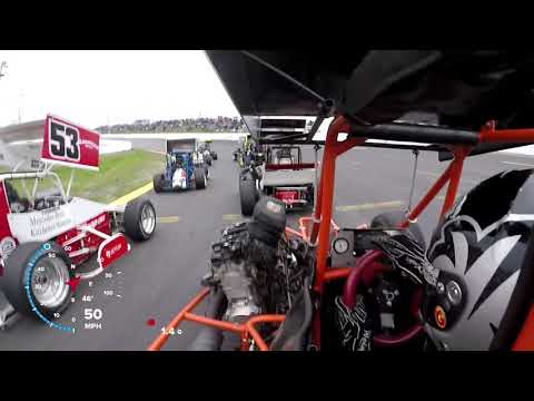 Can-Am Midgets A- Main #1 @ Sunset Speedway   May 18th, 2019 - David Miller Onboard