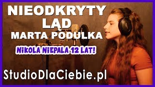 Nieodkryty ląd   Marta Podulka cover by Nikola Niepala #1392
