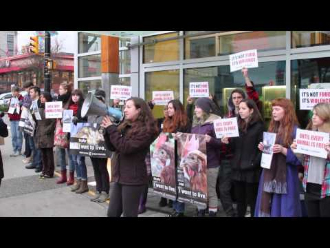 DxE Vancouver Day of Action: Whole Food's Humane Lie (Extended)