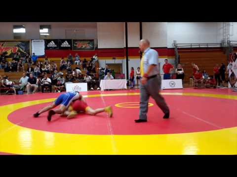 2015 Canada Cup: 61 kg Elvir Uzunovic (CAN) vs. Adam MacFadyen (CAN)