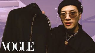 Jackson Wang Shops for the Perfect Tracksuit | Vogue Video