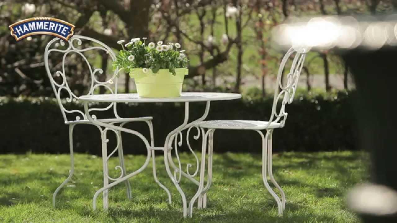 Salon Jardin Metal Blanc - Décoration de maison idées de design d ...