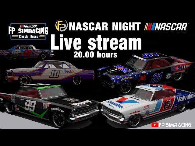 Livestream FP SimRacing Nascar Night