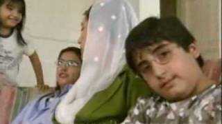 Benazir Bhutto with her children bilawal bhutto ,bakhtawar and aseefa