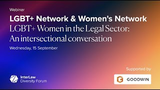 LGBT+ Women in the Legal Sector