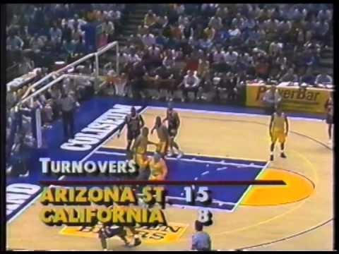 1993 Cal Basketball Defeats ASU 91-67 At Oakland Coliseum