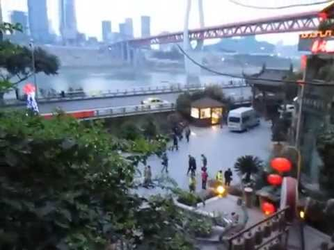 CINA, Chongqing - Fiume Yangtze (marzo 2015)