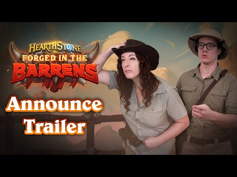 Forged in the Barrens Announcement Video