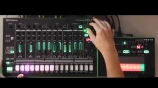 AIRA TR-8 TB-3 Side Chain and Scatter Modes