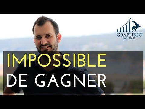 POURQUOI il est IMPOSSIBLE de GAGNER en BOURSE (2 RAISONS)