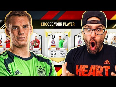 GERMANY ONLY DRAFT! - FIFA 17 ultimate team fut draft
