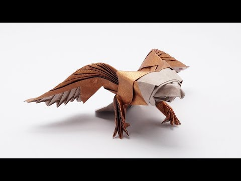 ORIGAMI AMERICAN EAGLE (Jo Nakashima)