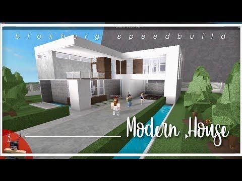 Roblox Bloxburg Modern House Slubne Suknie Info