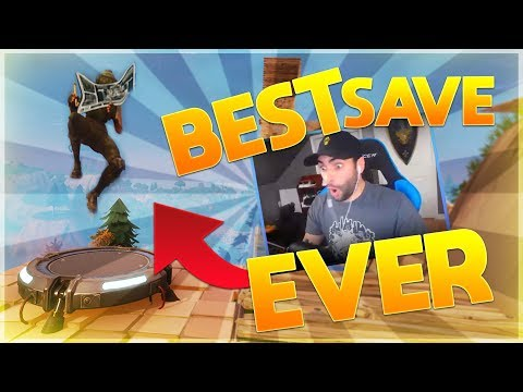 GREATEST SAVE EVER! - Fortnite Battle Royale (humanly impossible)