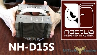 noctua NH D15S High Compatibility CPU Cooler Overview, Benchmarks and Installation