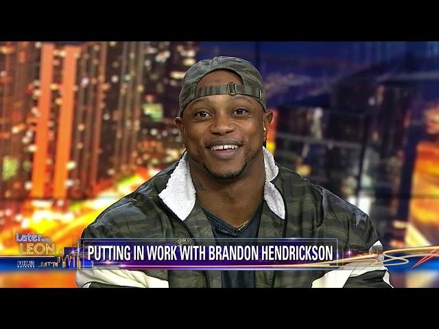 Brandon Hendrickson on Later with Leon 10/23/19