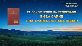 (II) - El Señor Jesús ha regresado en la carne y ha aparecido para obrar