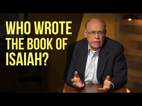 Who Wrote The Book Of Isaiah?