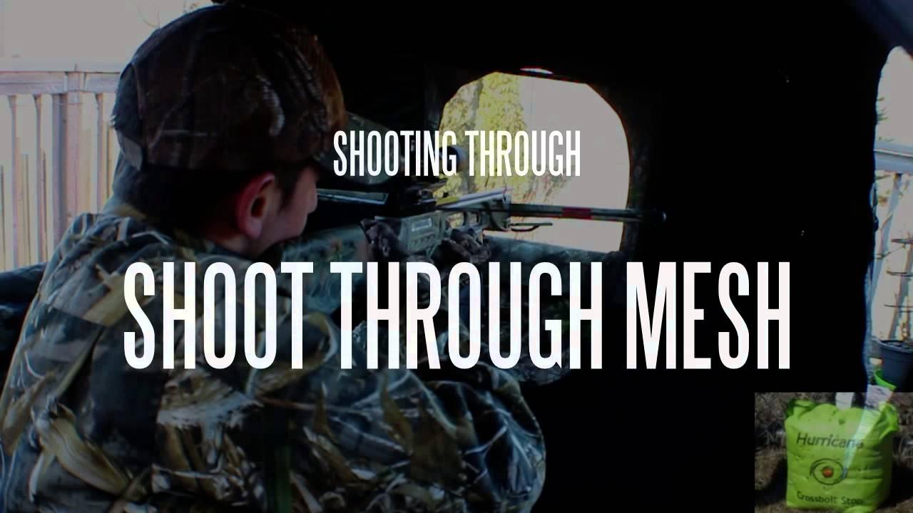 Shooting Through Shoot Through Mesh Youtube