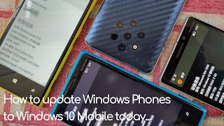 [UPDATED] How to update your old Lumia phone to Windows 10 Mobile today