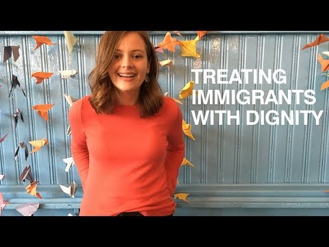 Treating immigrants and refugees with dignity / Rachel Krofcheck/ University of Glasgow